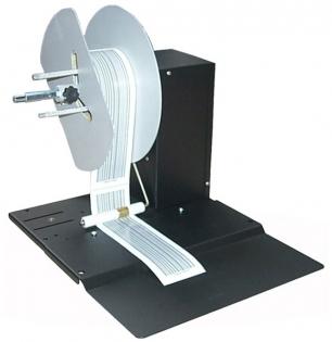 DRP AD1212-S0, намотчик этикеток, ширина 110 мм, диаметр 250 мм, втулка 25,4 мм, 225 об/мин