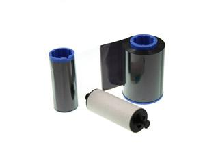 KdO black dye sublimation i ribbon with overlay 500